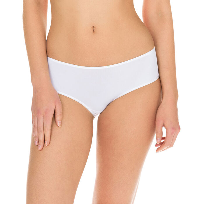 Shorty blanc Invisi Fit seconde peau, , DIM