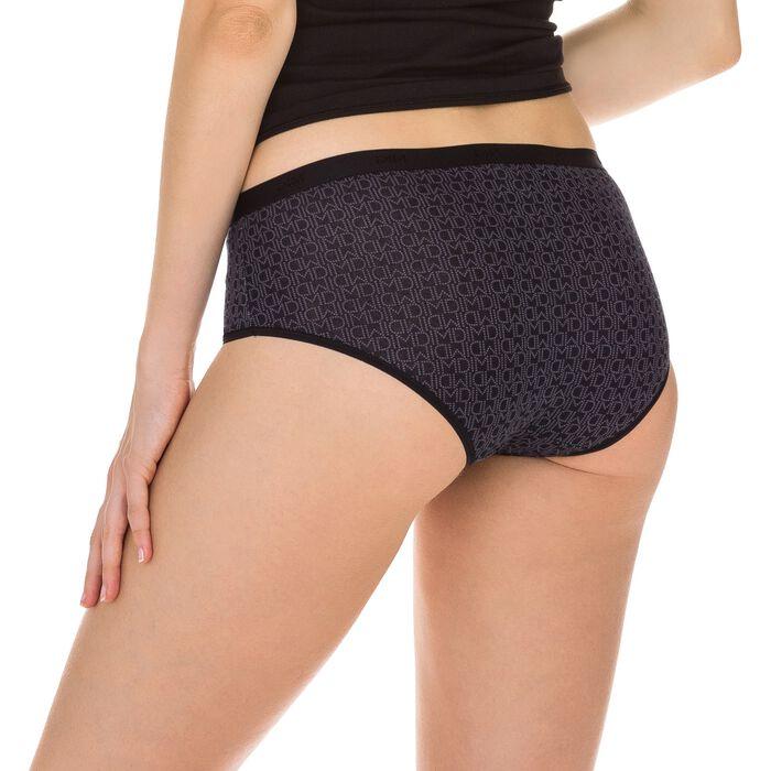 Lot de 3 boxers noirs Femme Les Pockets Coton-DIM