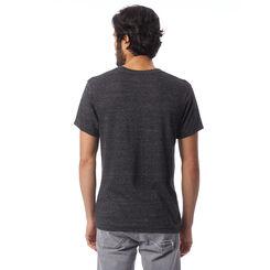T-shirt col en V Eco-Jersey™ noir à manches courtes Homme-DIM