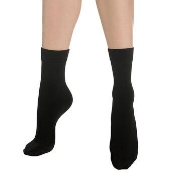 Socquettes chaudes noires Thermo Polaire , , DIM