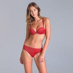 Culotte rouge Beauty Lift Femme invisibilité totale-DIM