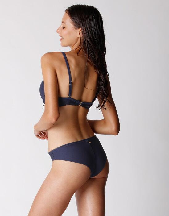 Haut de maillot de bain Bleu Outremer pour Femme avec armatures, , DIM
