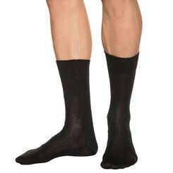 Chaussettes noires Homme LongLife*-DIM