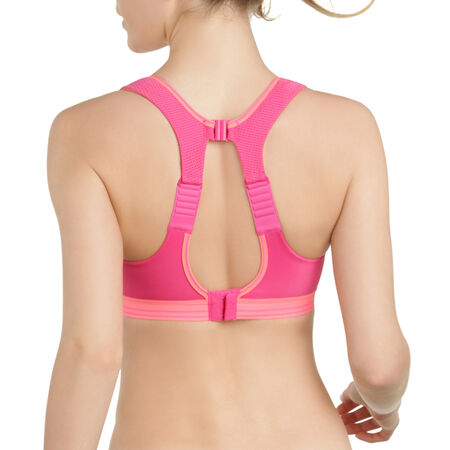 Soutien-gorge Ultimate Run Bra rose corail Shock Absorber. Ref 5044. 34 c7782eddba7
