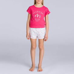 Pyjama court passion cactus DIM GIRL, , DIM