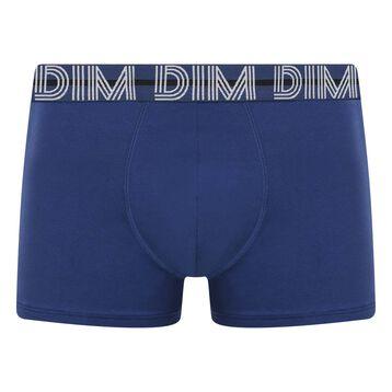 Boxer Bleu Eclipse en coton stretch à la ceinture bleue Dim Powerful, , DIM