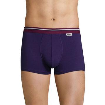 Boxer violet auburn ceinture lie de vin DIM Colors, , DIM