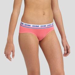 Shorty pour fille Grenadine en coton stretch, , DIM