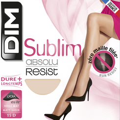 Collant ambre Sublim Absolu® Resist 15D, , DIM