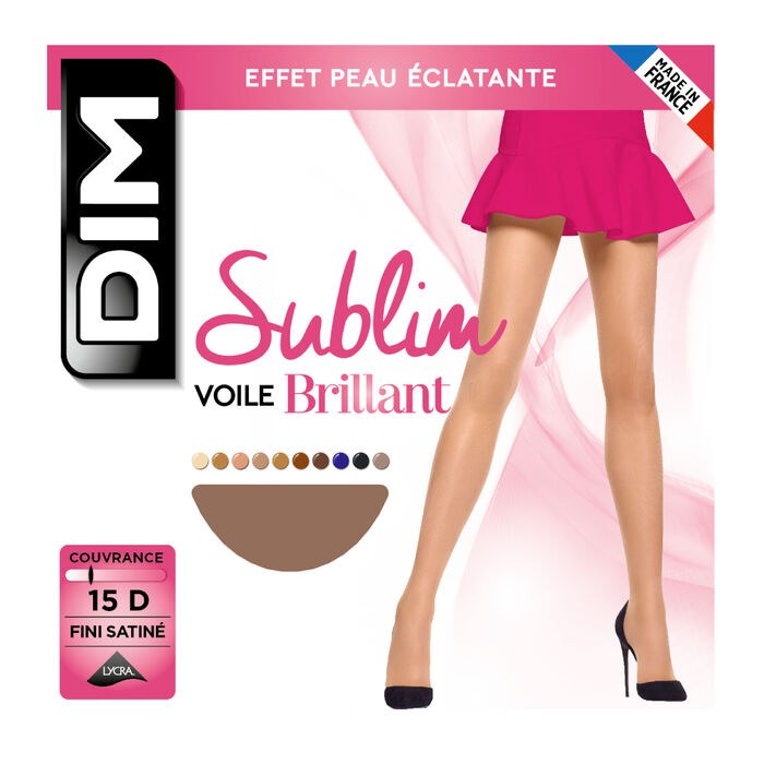 Collant gazelle Sublim Voile Brillant 15D, , DIM