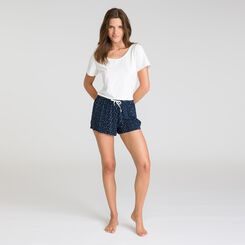 Short de nuit noir Soft & Cool-DIM
