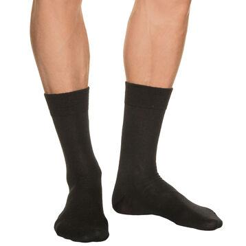 Chaussettes noires Homme en Laine, , DIM