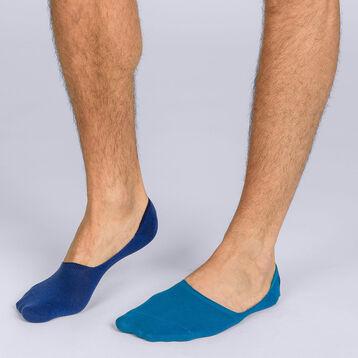 Lot de 2 protège-pieds Homme Basic Coton, , DIM