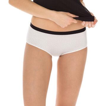 Lot de 3 boxers nœud noir en coton Les Pockets-DIM