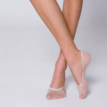Lot de 2 protège-pieds naturels spécial mocassins-DIM