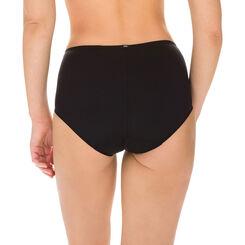 Slip taille haute noir ventre plat EcoDIM-DIM