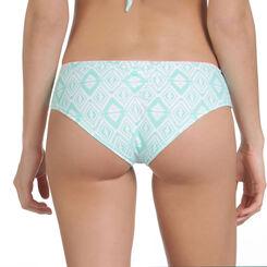 Bas de maillot de bain shorty imprimé aztèque vert Femme-DIM
