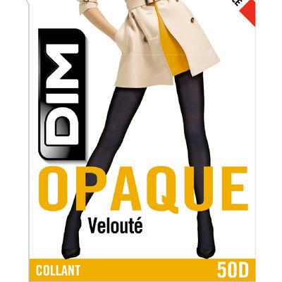 Collant noir opaque velouté Style 50D, , DIM