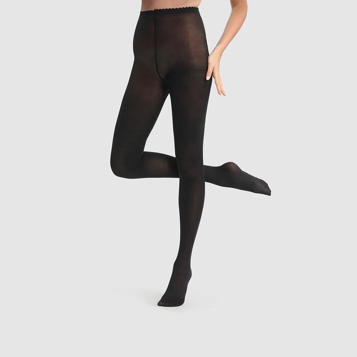 Collant noir Body Touch Opaque 40D, , DIM