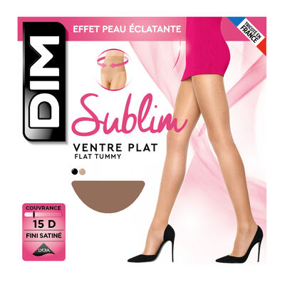Collant gazelle Sublim Ventre Plat 15D, , DIM