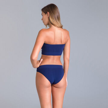 Soutien-gorge bandeau collection 60 ans bleu marine-DIM