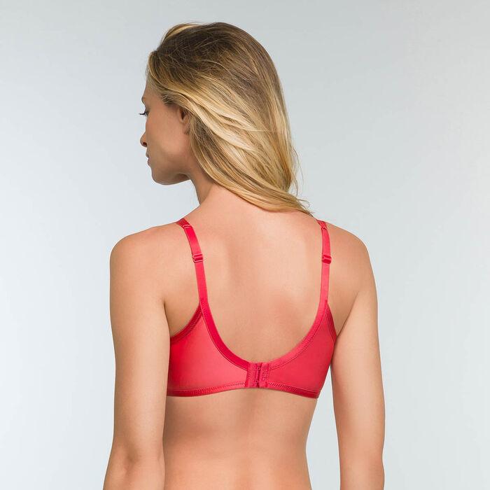 Soutien-gorge foulard rouge emboîtant Dim Beauty Lift, , DIM