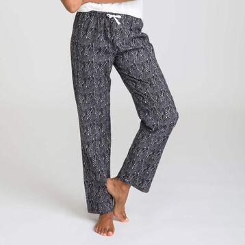 Pantalon de pyjama noir Soft & Cool-DIM