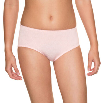 Shorty rose poudré DIM TOUCH Girl-DIM