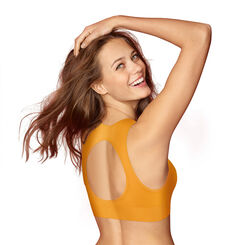 Soutien-gorge triangle collection 60 ans jaune d'or-DIM