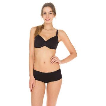 3e08f7868 Boxer noir Body Touch seconde peau Femme-DIM ...