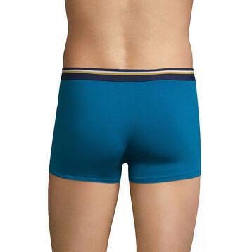 Boxer bleu océanique ceinture bleu marin DIM Colors-DIM