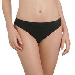 Bas de maillot de bain noir culotte avec revers Femme-DIM