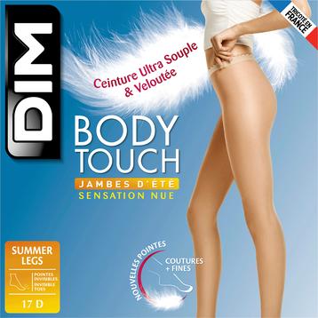 Collant terracotta Body Touch Jambes d'été 17D, , DIM