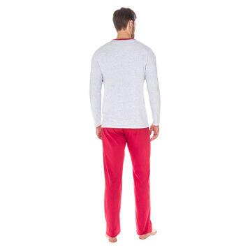 Pantalon de pyjama rubis 100% coton Homme-DIM