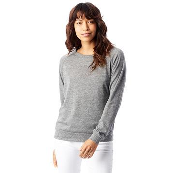 Sweatshirt gris chiné Eco-Jersey™ Femme-DIM