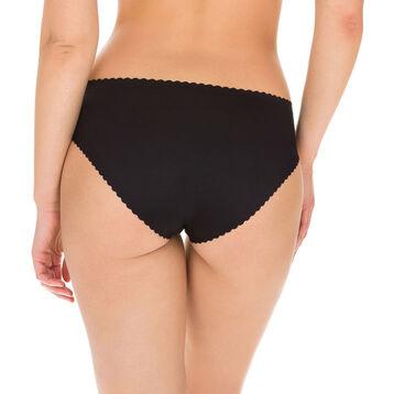 Slip noir Body Touch seconde peau Femme-DIM