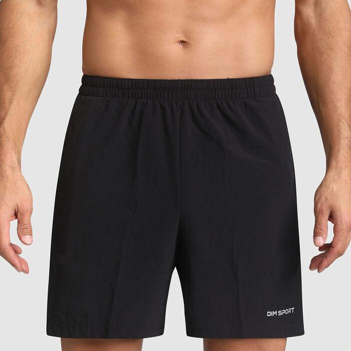 Short de sport noir pour homme DIM Sport, , DIM