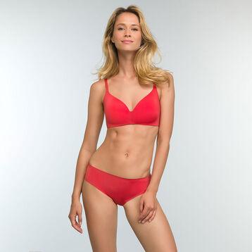 Culotte invisible Rouge Casual en microfibre pour femme InvisiFree, , DIM