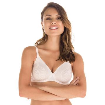 Soutien-gorge rose ballerine sans armatures Nude Support-DIM