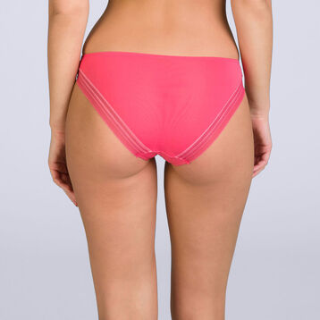 Slip rouge corail Invisi Fit, , DIM