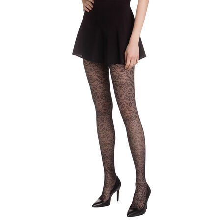 Collant noir dentelle chic Madame So Chic 21D 549a511a2e8