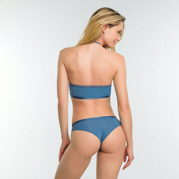 Brassière dentelle dos nu bleue antique - Dim Daily Glam Trendy Sexy, , DIM