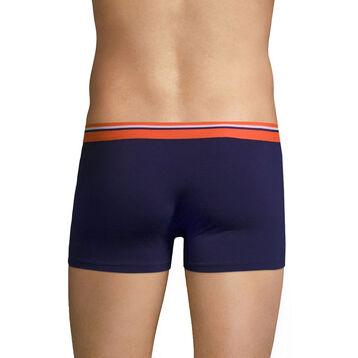 Boxer violet auburn ceinture orange feu DIM Colors, , DIM