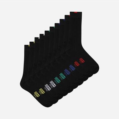 Lot de 5 paires chaussettes noires EcoDIM Homme, , DIM