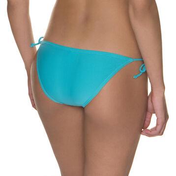Bas de maillot de bain à nouer bleu baltic Femme-DIM