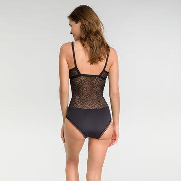 Body femme dentelle noir - Dim Daily Glam Trendy Sexy, , DIM