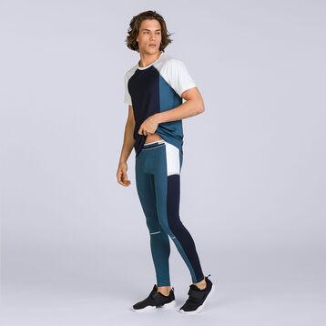 T-shirt bleu et blanc DIM Sport-DIM