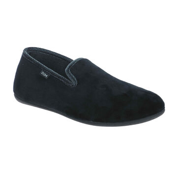 Chaussons type charentaises Noirs Homme, , DIM