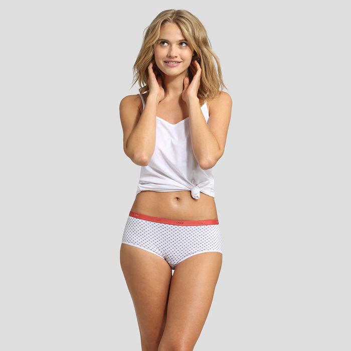 Lot de 3 boxers imprimé provence Les Pockets Coton Stretch Dim, , DIM