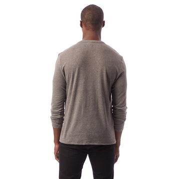 T-shirt gris charbon à manches longues Homme-DIM